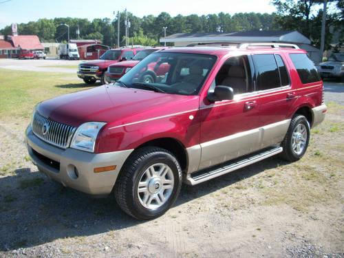 2004 mercury mountaineer suv awd for sale in hartselle alabama classified. Black Bedroom Furniture Sets. Home Design Ideas