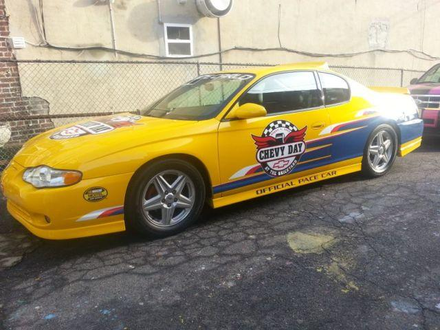 2004 monte carlo ss supercharged official pace car for sale in saddle brook new jersey. Black Bedroom Furniture Sets. Home Design Ideas
