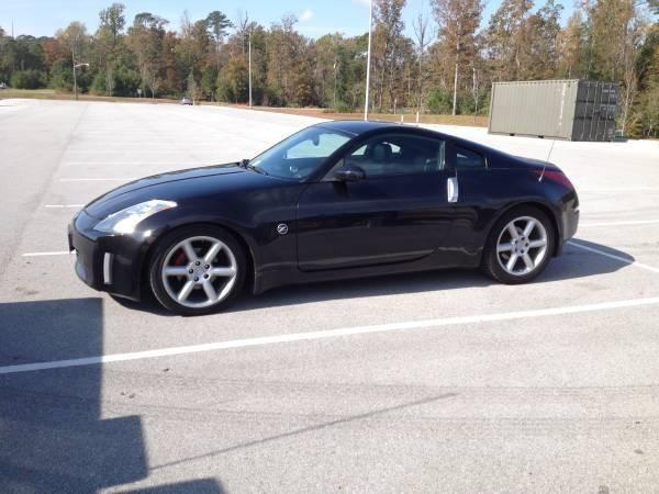 2004 nissan 350z for sale in north topsail beach north. Black Bedroom Furniture Sets. Home Design Ideas