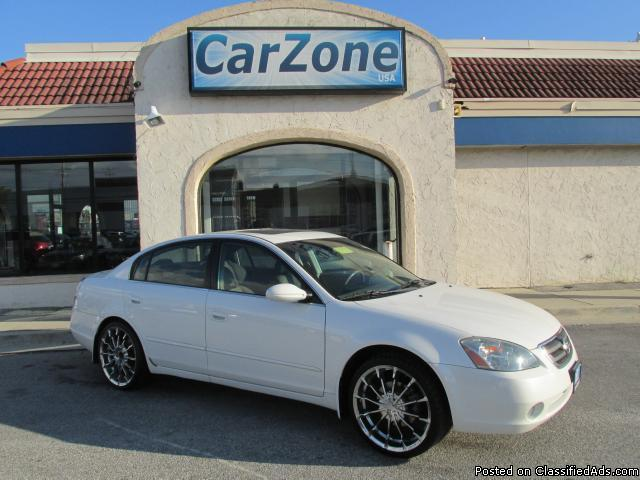 2004 Nissan Altima 2.5 SL- White- 114K for Sale in Baltimore, Maryland Classified ...
