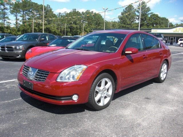 2004 nissan maxima se for sale in longs south carolina. Black Bedroom Furniture Sets. Home Design Ideas