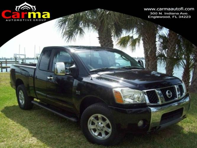 2004 nissan titan le king cab 4wd for sale in englewood florida classified. Black Bedroom Furniture Sets. Home Design Ideas