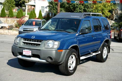 2004 nissan xterra xe auto blue 4wd 3 3l 74k miles for sale in hagerstown maryland classified. Black Bedroom Furniture Sets. Home Design Ideas