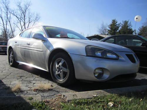 2004 pontiac grand prix gt2 3800 v6 heated leather seats silver for sale in howell. Black Bedroom Furniture Sets. Home Design Ideas