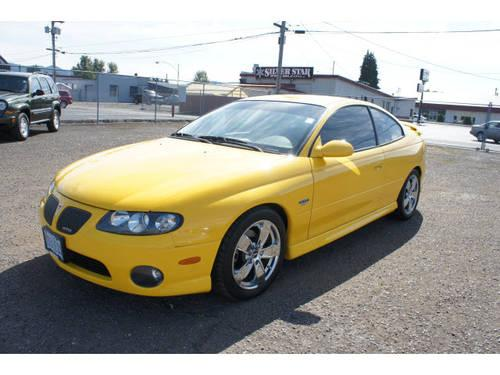 2004 pontiac gto 2 dr coupe for sale in longview washington classified. Black Bedroom Furniture Sets. Home Design Ideas
