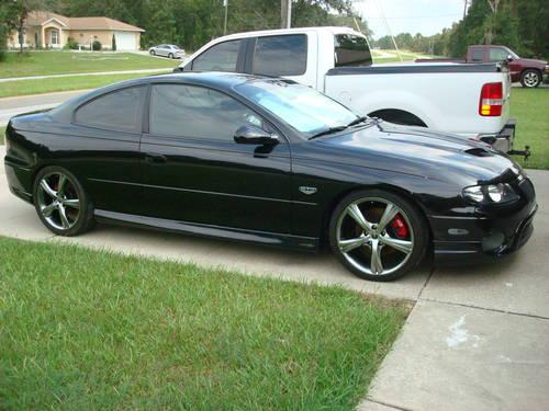 2004 pontiac gto 5 7 ltr 6 speed trans 45000 mi for sale in ocala florida classified. Black Bedroom Furniture Sets. Home Design Ideas