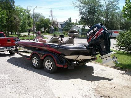 2004 Ranger 519VX FLW Bass Boat Tour Addition