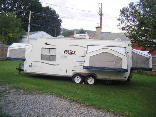 2004 Rockwood Roo hybrid RV 3 foldouts 23ft for Sale in ...