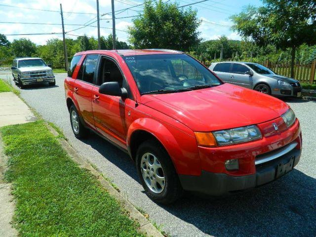 2004 saturn vue v6 red automatic
