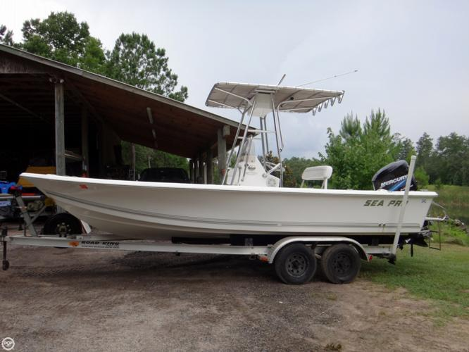 2004 Sea Pro Sv 2100 Bay Boat  Cc For Sale In Silver