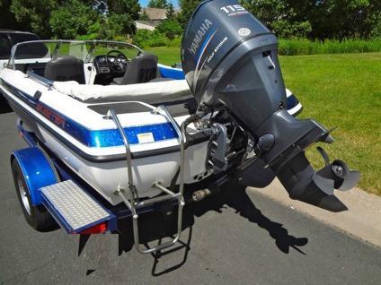 2004 Skeeter SL180 Fish n Ski Yamaha 115 Hp 4stroke