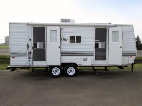 2004 Skyline Aljo Lite Travel Trailer 23 Feet Queen Bed For Sale In Mcminnville Oregon