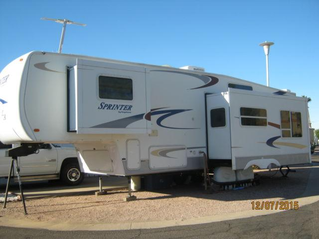2004 Sprinter 5th Wheel For Sale In Apache Junction Arizona Classified