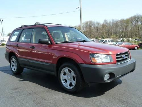 2004 subaru forester suv 2 5x awd for sale in hulmeville pennsylvania classified. Black Bedroom Furniture Sets. Home Design Ideas
