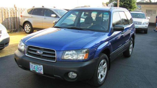 2004 Subaru Forester X Sport Utility For Sale In Portland