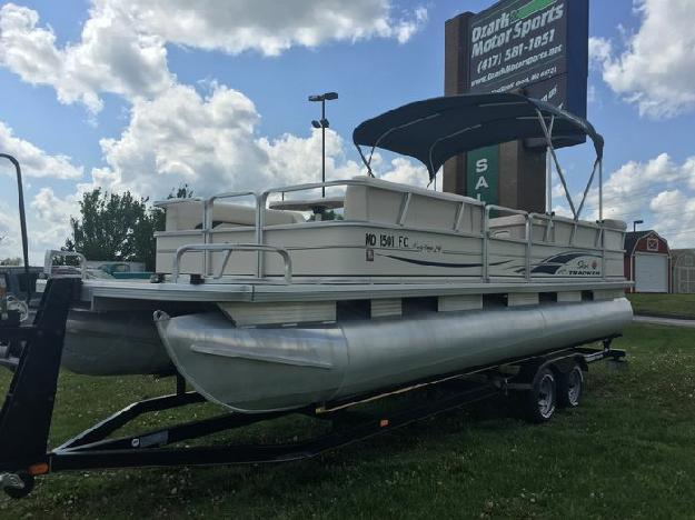 2004 sun tracker party barge 24 39 signature series 90hp for Tracker outboard motor parts