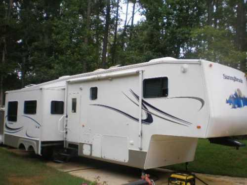 2004 sunnybrook 34rkfs in macon ga for sale in macon georgia classified. Black Bedroom Furniture Sets. Home Design Ideas