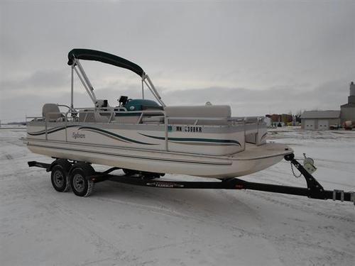 2004 sylvan deck boat for sale in cottonwood minnesota for Sylvan fishing boats
