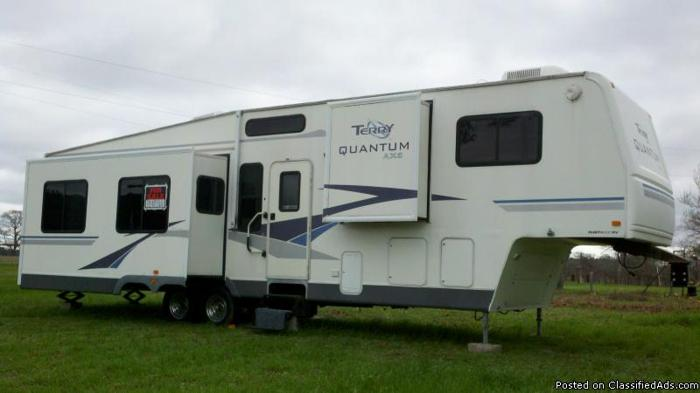 2004 Terry Quantum Fifth Wheel (REDUCED PRICE)
