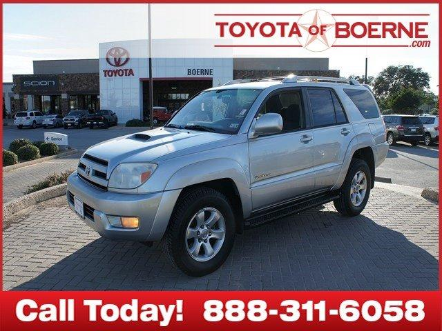 2004 toyota 4runner boerne tx for sale in boerne texas classified. Black Bedroom Furniture Sets. Home Design Ideas