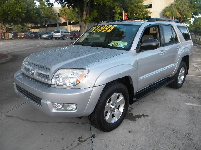2004 toyota 4runner sr5 for sale in margate florida. Black Bedroom Furniture Sets. Home Design Ideas