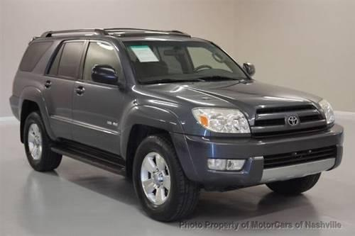 2004 toyota 4runner suv 4dr sr5 v6 auto 4wd awd suv for sale in mount juliet tennessee. Black Bedroom Furniture Sets. Home Design Ideas