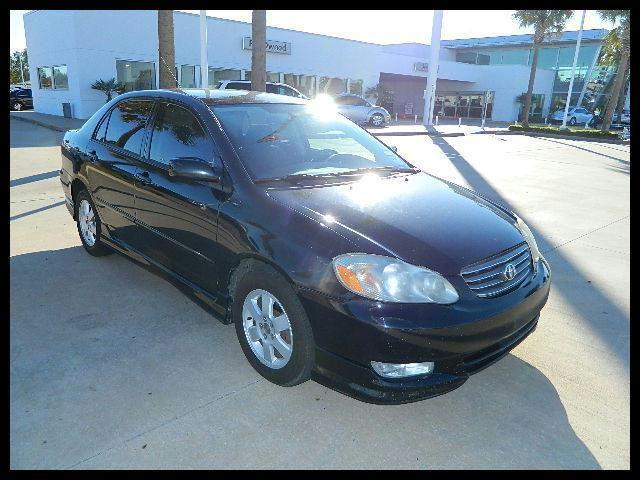 2004 toyota corolla s for sale in houston texas classified. Black Bedroom Furniture Sets. Home Design Ideas