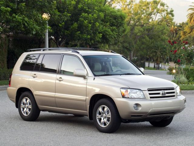 2004 Toyota Highlander Base Fwd 4dr SUV