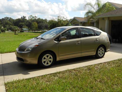 Toyota South Blvd >> 2004 TOYOTA PRIUS GOLD/TAN CLOTH ALL ORIGINAL WATCH VIDEO for Sale in De Land, Florida ...