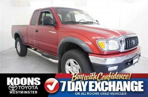 2004 toyota tacoma extended cab pickup prerunner for sale in carrollton maryland classified. Black Bedroom Furniture Sets. Home Design Ideas
