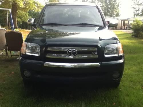 2004 toyota tundra double cab for sale in rockingham north carolina classified. Black Bedroom Furniture Sets. Home Design Ideas