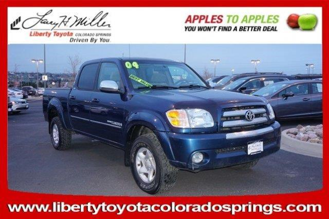 2004 toyota tundra sr5 4dr double cab sr5 4wd sb v8 for sale in colorado springs colorado. Black Bedroom Furniture Sets. Home Design Ideas