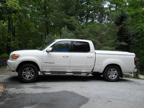 2004 toyota tundra v8 double cab with limited package for sale in highlands north carolina. Black Bedroom Furniture Sets. Home Design Ideas