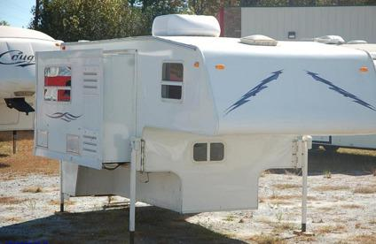 2004 Travel Lite camper for LONG BED truck AC, SLIDEOUT for