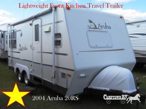 2004 travel trailer aruba 20rs for sale in archers lodge north carolina classified. Black Bedroom Furniture Sets. Home Design Ideas