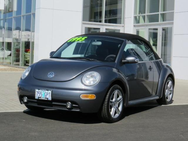 2004 VOLKSWAGEN NEW BEETLE CONVERTIBLE 2dr Car for Sale in Medford, Oregon Classified ...
