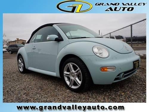 2004 volkswagen new beetle convertible 2dr car gls turbo for sale in clifton colorado. Black Bedroom Furniture Sets. Home Design Ideas