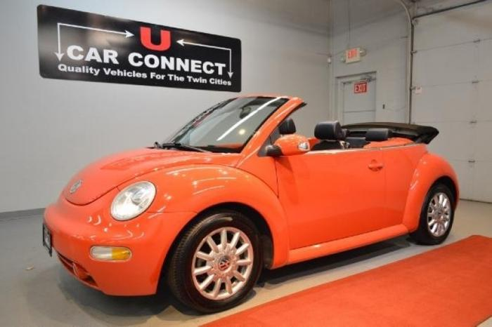 2004 volkswagen new beetle convertible 2dr convertible gls manual for sale in eden prairie. Black Bedroom Furniture Sets. Home Design Ideas