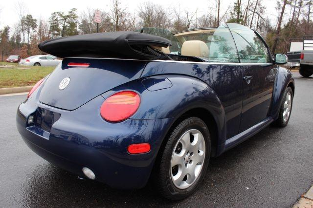 2004 volkswagen new beetle convertible 2dr convertible gls manual for sale in chantilly. Black Bedroom Furniture Sets. Home Design Ideas