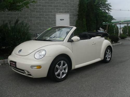 2004 Volkswagen New Beetle Convertible GLS 1.8L Convertible for Sale in Saddle Brook, New Jersey ...