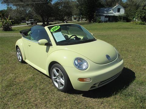 2004 volkswagen new beetle convertible gls convertible 2d for sale in saint cloud florida. Black Bedroom Furniture Sets. Home Design Ideas