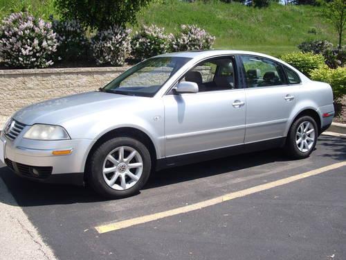 2004 Volkswagen Passat Gls 4cylinder Silver Gray Auto