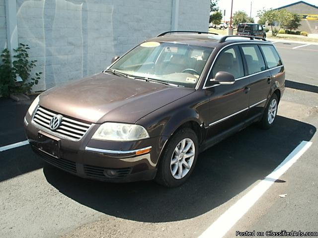 2004 Volkswagen Passat Gls Wagon Limited For Sale In