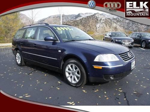 2004 Volkswagen Passat Wagon Station Wagon Gls For Sale In