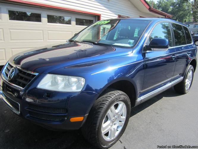 Joe Machens Columbia Mo >> 2004 VOLKSWAGEN TOUAREG LEATHER AUTO SUNROOF BLUE SUPER NICE!! for Sale in Saint Charles ...