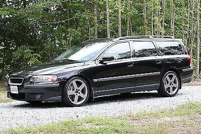 2004 volvo v70r auto black saphire with goby interior lots of photos for sale in chesterfield for Volvo v70 leather interior for sale