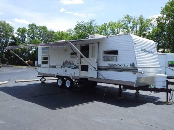 2004 wildwood by forest river 31ft super silde bunkhouse