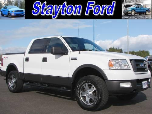 2004 ford f 150 supercrew truck supercrew cab fx4 for sale in aumsville oregon classified. Black Bedroom Furniture Sets. Home Design Ideas