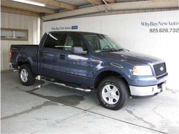 2004 ford f150 supercrew cab xlt pickup 4d 5 1 2 ft for sale in rocklin california classified. Black Bedroom Furniture Sets. Home Design Ideas