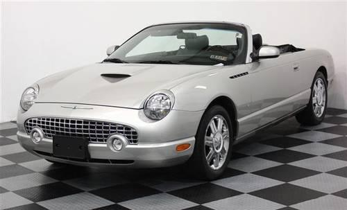2004 ford thunderbird convertible hardtop convertible for sale in perkasie pennsylvania. Black Bedroom Furniture Sets. Home Design Ideas